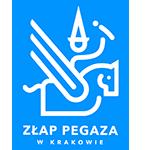 logotyp złap pegaza w krakowie