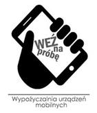 Logotyp wypożyczalni urządzeń mobilnych